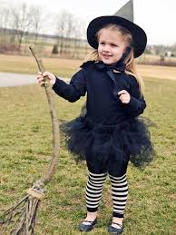 make a tyke s witch costume without a sewing machine