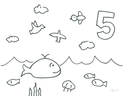 Creation Coloring Pages Free Printable Page For School Sunday