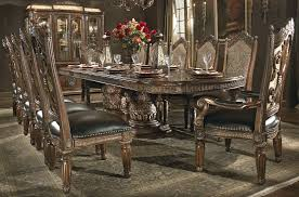 Villa Valencia Rectangular Extendable Dining Room Set From Aico - Aico dining room set