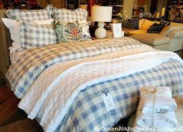 blue and white buffalo check bedding designs plaid duvet red cover