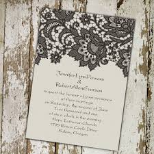 lace wedding invitations best choice for vintage and rustic Cheap Wedding Invitations Burlap And Lace vintage black printed lace wedding invitations cheap wedding invitations burlap and lace