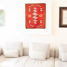 1920 s vintage native american navajo gallup throw table mat wall hanging ganado red