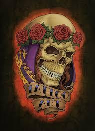 Motiv Tetování Lebky Atd 1138
