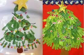 10 Handprint And Footprint Kids Craft Ideas  Handprint Art Kids Christmas Toddler Craft Ideas