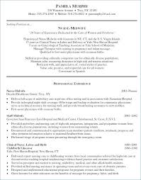 Examples Of Nursing Resumes Best Of Example Resume Objectives