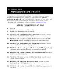 Architectural Board of Review