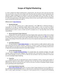 Ppt Scope Of Digital Marketing Powerpoint Presentation Id 7385197