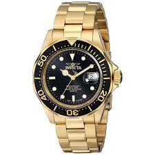 invicta men s pro diver automatic 200m water resistant watch 9311 invicta men s pro diver automatic 200m water resistant watch 9311 black and gold