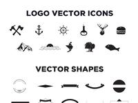Vintage Logo Vector Free Vintage Logo Kit 15 Vector Logo Templates By Zippypixels