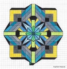 Graph Paper Drawing Ideas Art