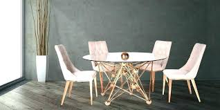 outstanding gold dining table room luxury within reach 6 rose base round tab