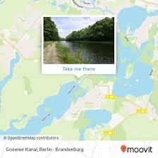 Die längsten kanäle deutschlands (über 100 km) sind (nur deutscher anteil): How To Get To Gosener Kanal In Muggelheim By Bus Light Rail Or S Bahn Moovit
