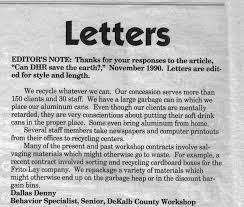 Letter to the Editor The Human Side February 1991