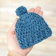 Crochet Preemie Hat Pattern Cool Preemie Crochet Hat Pattern Two Sizes Petals To Picots