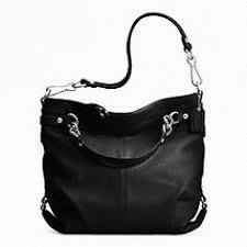 LEATHER BROOKE Black Coach Purses, Clearance Handbags, Coach Handbags,  Purses And Handbags,