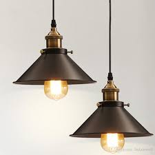 vintage industrial lighting. Edison Bulb Vintage Industrial Lighting Copper Lamp Holder Pendant Light American Aisle Lights 110v 220v Fixtures Glass Shades