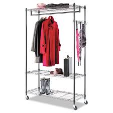 alera wire shelving y7cu alera wire shelving garment rack coat rack stand alone rack