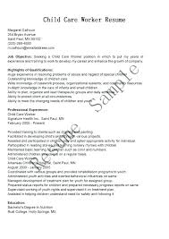 Resume Examples For Nanny Position Nanny Resume Objective Nanny ...