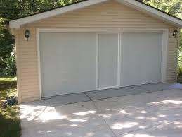 retractable garage door screen cost home depot panels