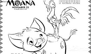 Moana Coloring Pages Free Elegant New Moana Color Pages Gallery