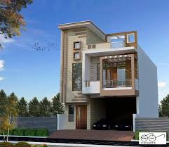 Building Elevation Designs For Double Floor Small House Double Story Design In 2020 House Elevation