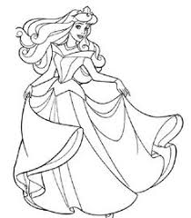 Small Picture princess coloring pages with swirling dresses Tegninger