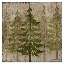>courtside market pine tree forest gallery canvas wall art bed bath  courtside market pine tree forest gallery canvas wall art