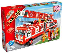 <b>Конструктор BanBao Пожарные</b> 8308 Пожарная машина с ...