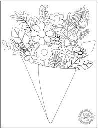 Enjoy these free coloring pages, an extension of flowers activities and crafts suitable for toddlers, preschool and kindergarten. 14 Original Pretty Flower Coloring Pages To Print Kids Activities Blog