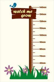 Watch Me Grow Chart Watch Me Grow Growth Chart