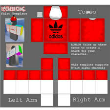 Roblox Make A Shirt Use Red Adidas T Shirt And Thousands Of Other Assets To