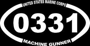 Usmc 0331 Usmc 0331 Machine Gunner Custom Car Truck Van Window Or Bumper Sticker Vinyl Decal