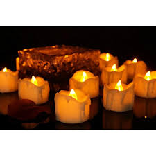 Long Lasting Amber Tea Lights Set Of 100 Unscented Candles