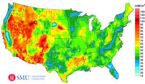 geothermal energy map. Interesting Map A  Inside Geothermal Energy Map ZDNet