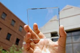 this fully transpa solar cell could make every window and screen a power source