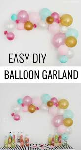 Diy Birthday Decorations 17 Best Ideas About Diy Party Decorations On Pinterest Diy