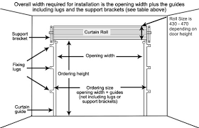 industrial garage door dimensions. Gliderol Steel Roller Garage Door Dimensions Industrial S