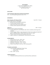 Resume For Someone With No Job Experience resume Good Resume Examples For Jobs 79