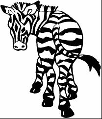 Small Picture Zebra Coloring Page Coloring Pages Printable Archives Best Page