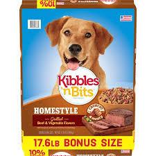 Kibbles N Bits Homestyle Grilled Beef Vegetable Flavors Dog Food 17 6 Pound