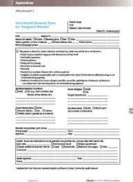 dental referral form template sample referral form