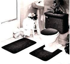 toilet rug set industries 5 piece rug and toilet tank set black lightweight rugs pile machine toilet rug set