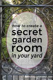 secret gardens are a beautiful way of garden landscaping that will create your dream garden in