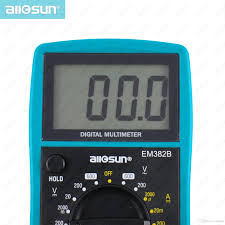 LCD Display <b>Professional Electric Handheld</b> Tester Meter Digital ...