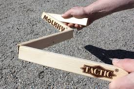 tactic wooden measuring stick mölkky
