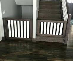 3 rustic farmhouse style dog gates for stairs of the least ugly baby and pet dog gate