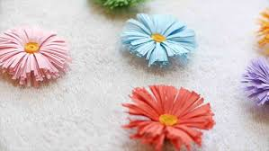 Flower Paper Craft How To Make A Paper Daisy Flower Easy Diy Craft Ideas