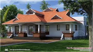 Kerala Single Floor House Designs Style 4 Bedroom Plans Home
