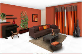 Living Room Color Schemes With Brown Furniture Orange And Grey Living Room Paigeandbryancom