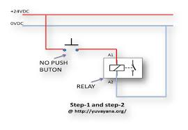 how to create relay logic circuit with examples engineer's portal relay diagram 4 pin at 24vdc Relay Wiring Diagram